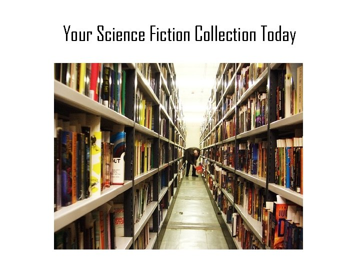 Your Science Fiction Collection Today