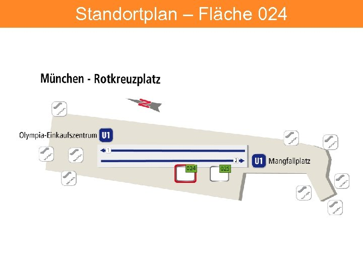 Standortplan – Fläche 024 11