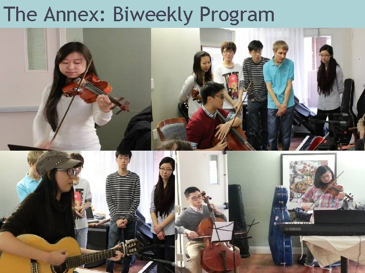 The Annex: Biweekly Program