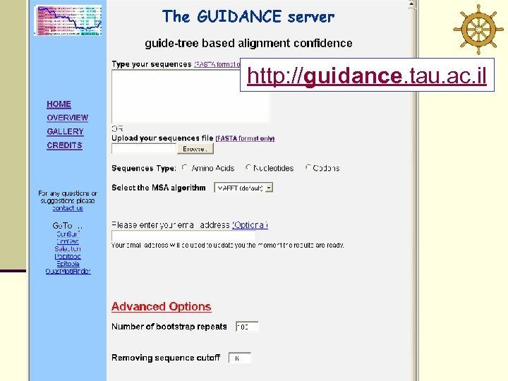 http: //guidance. tau. ac. il
