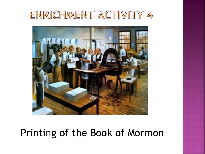 Printing of the Book of Mormon