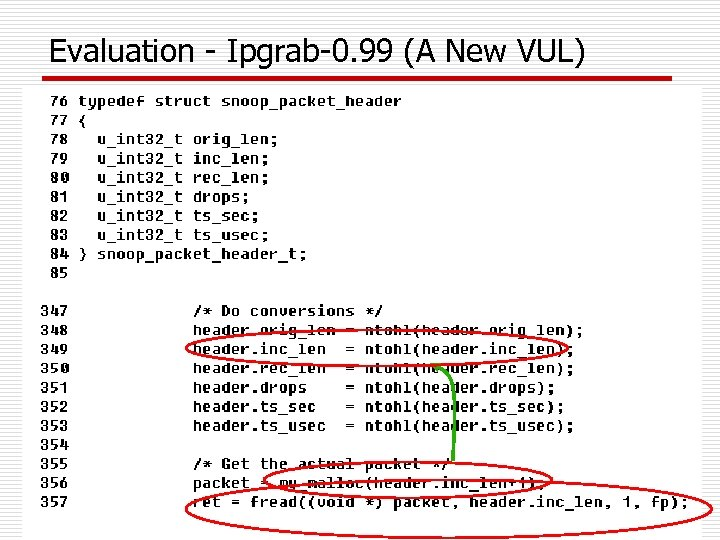 Evaluation - Ipgrab-0. 99 (A New VUL)