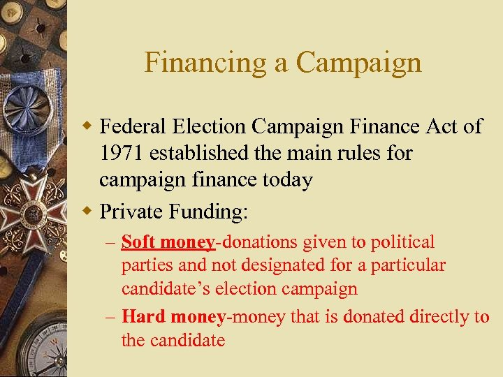 federal elections campaign act of 1974 Be cited as the federal election campaign act of 1971 i 197t  within 60 day s after th e dat of enactment thi act, and federal register (j^jjj^g ^j^g fjjg.