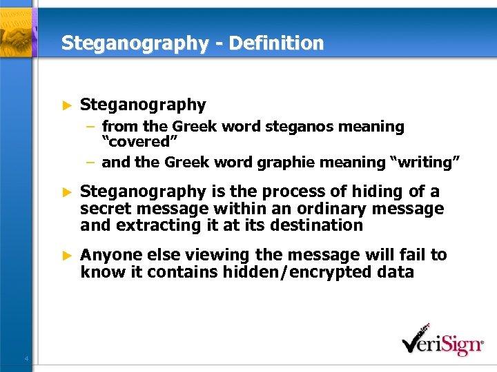 Steganography Steganalysis Cryptanalysis Michael T Raggo CISSP
