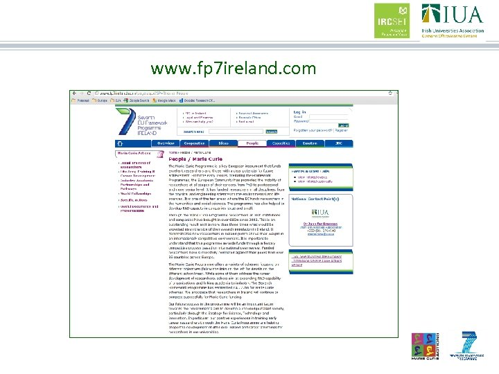 www. fp 7 ireland. com