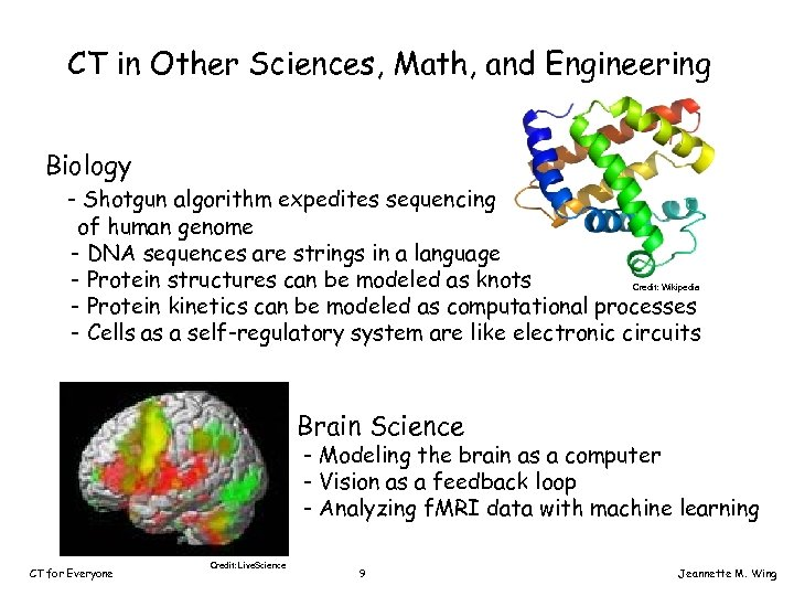 CT in Other Sciences, Math, and Engineering Biology - Shotgun algorithm expedites sequencing of