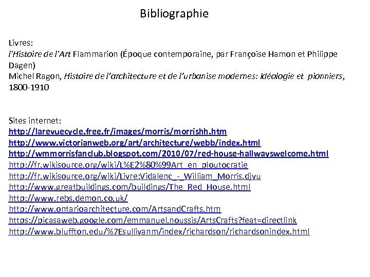 Bibliographie Livres: l'Histoire de l'Art Flammarion (Époque contemporaine, par Françoise Hamon et Philippe Dagen)