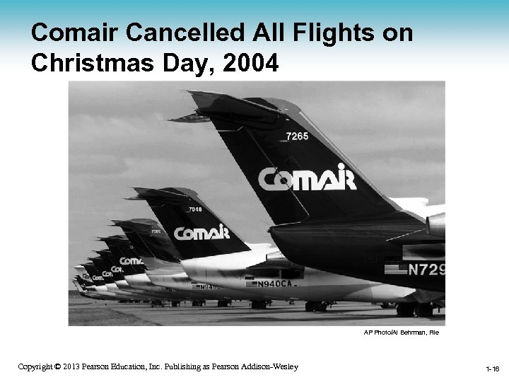 Comair Cancelled All Flights on Christmas Day, 2004 AP Photo/Al Behrman, File 1 -16