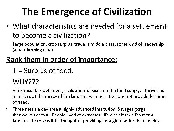 characteristics of neolithic revolution