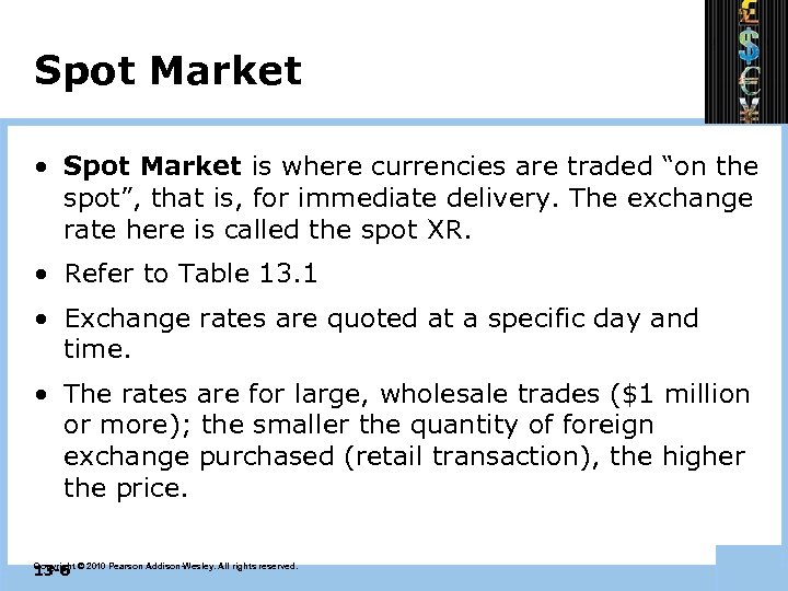 """Spot Market • Spot Market is where currencies are traded """"on the spot"""", that"""
