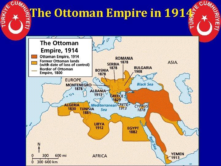 The Ottoman Empire in 1914