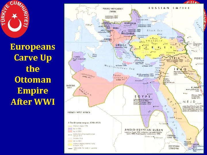 Europeans Carve Up the Ottoman Empire After WWI