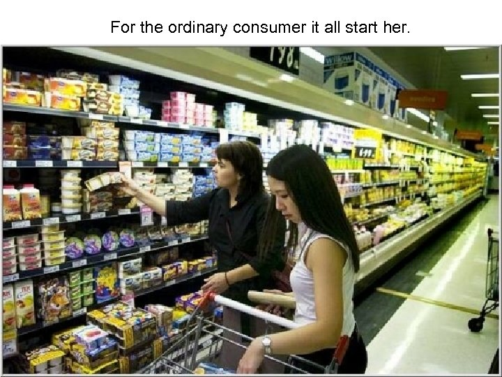 For the ordinary consumer it all start her.