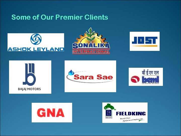 Some of Our Premier Clients