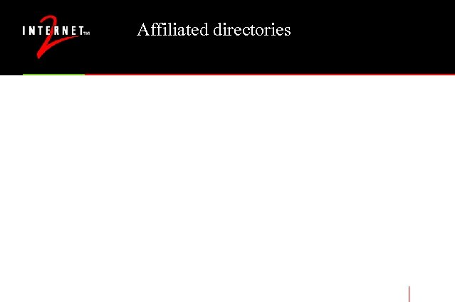 Affiliated directories