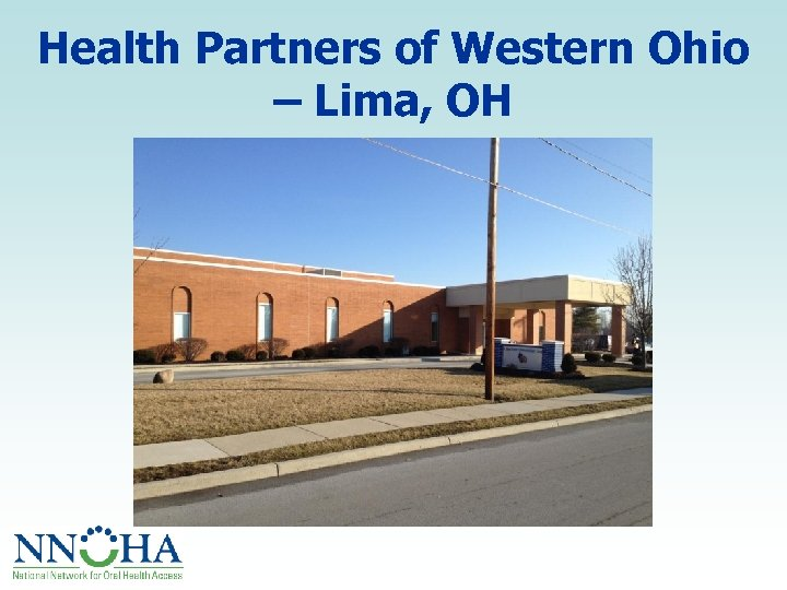Health Partners of Western Ohio – Lima, OH