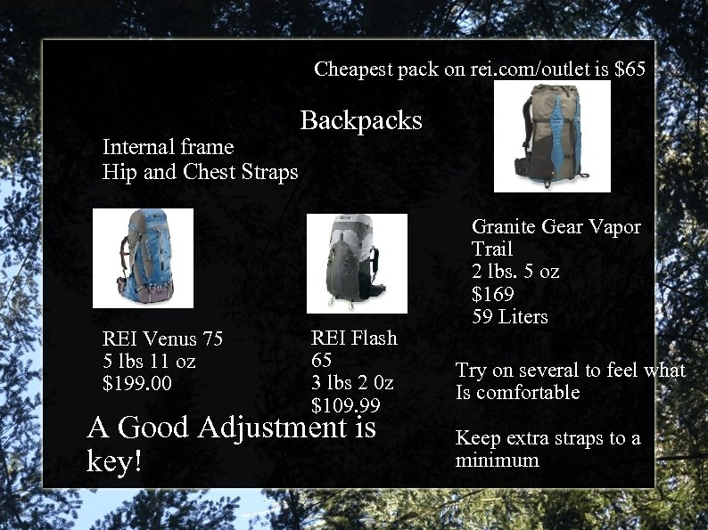 So what is this backpacking thing anyways Karen