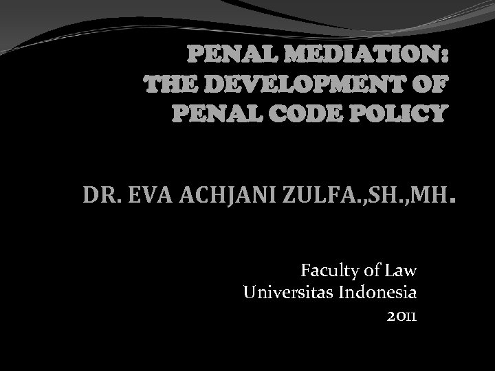aims and development of the penal The brochure aims to collate the latest available data at each level on the statistical level of the prosecution service, the criminal proceedings, the penal courts and the probation.