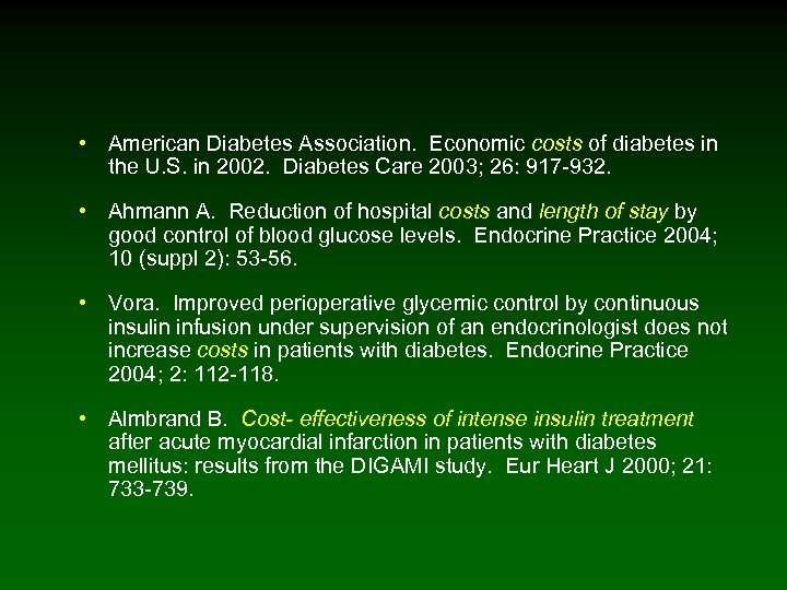 • American Diabetes Association. Economic costs of diabetes in the U. S. in