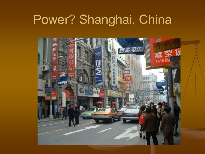 Power? Shanghai, China