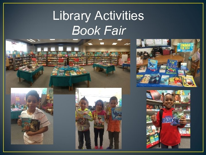 Library Activities Book Fair