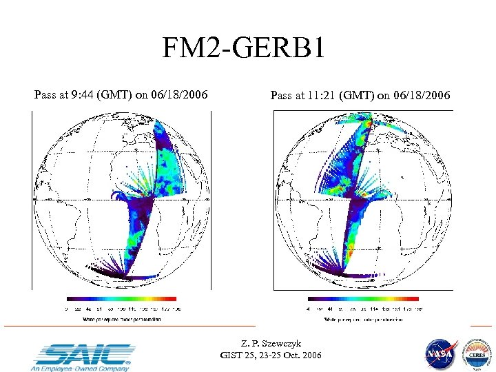 FM 2 -GERB 1 Pass at 9: 44 (GMT) on 06/18/2006 Pass at 11: