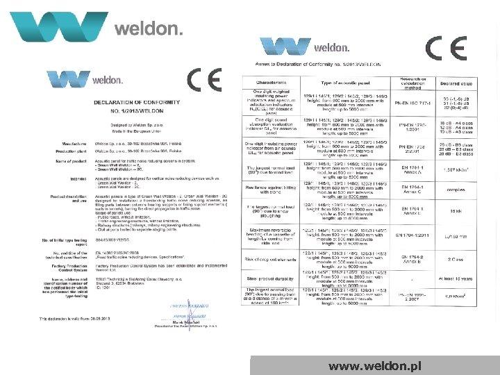www. weldon. pl
