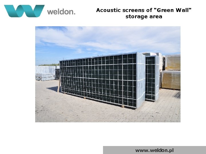 Acoustic screens of