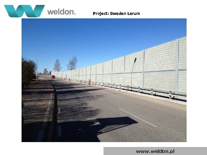 Project: Sweden Lerum www. weldon. pl
