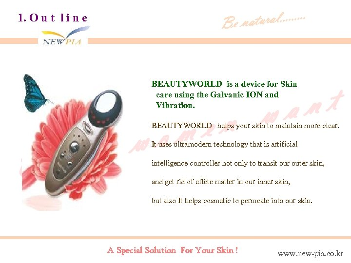 tural. . Be na 1. O u t l i n e BEAUTYWORLD is