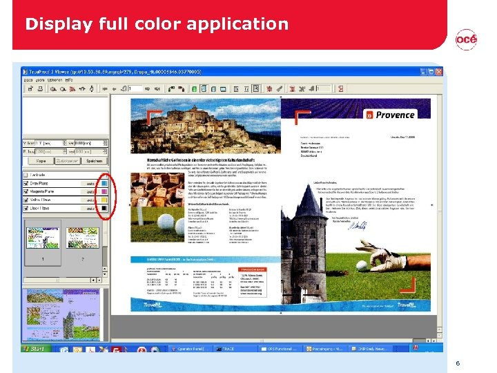 Display full color application 6