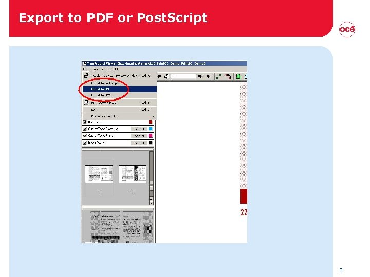 Export to PDF or Post. Script 9