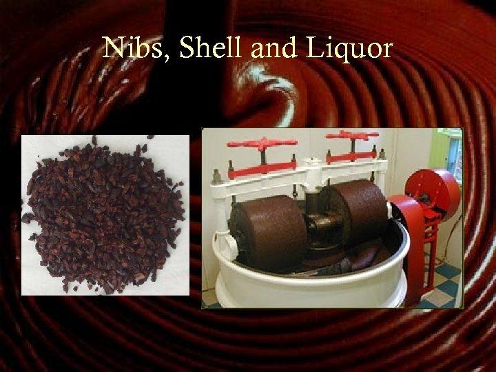 Nibs, Shell and Liquor