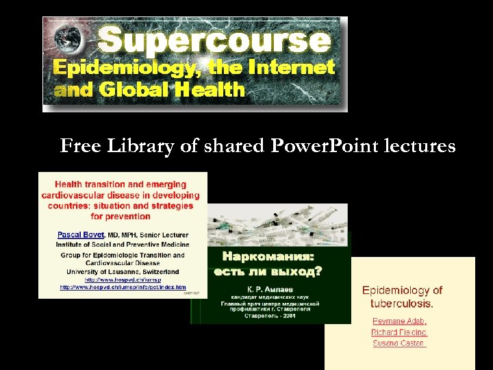 Free Library of shared Power. Point lectures