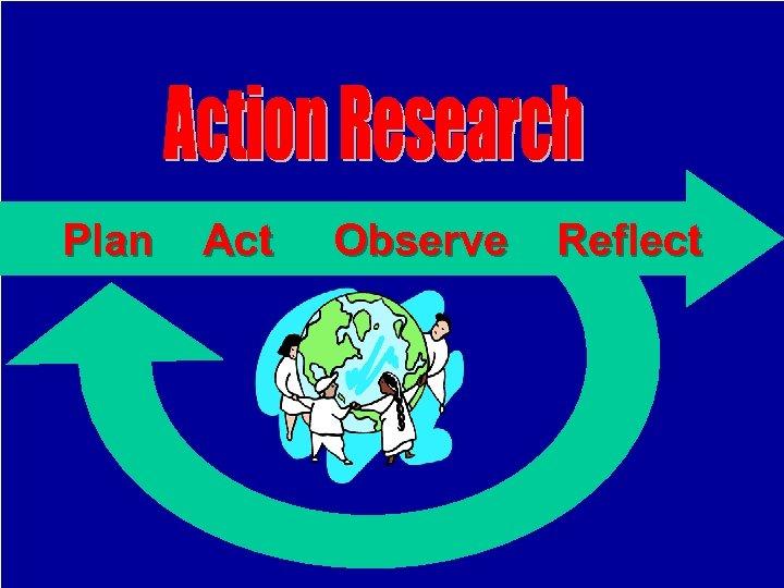 Plan Act Observe Reflect