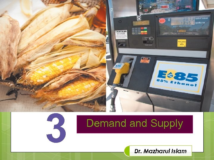 2 3 Demand Supply Dr. Mazharul Islam