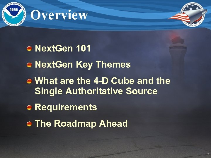 Overview Next. Gen 101 Next. Gen Key Themes What are the 4 -D Cube