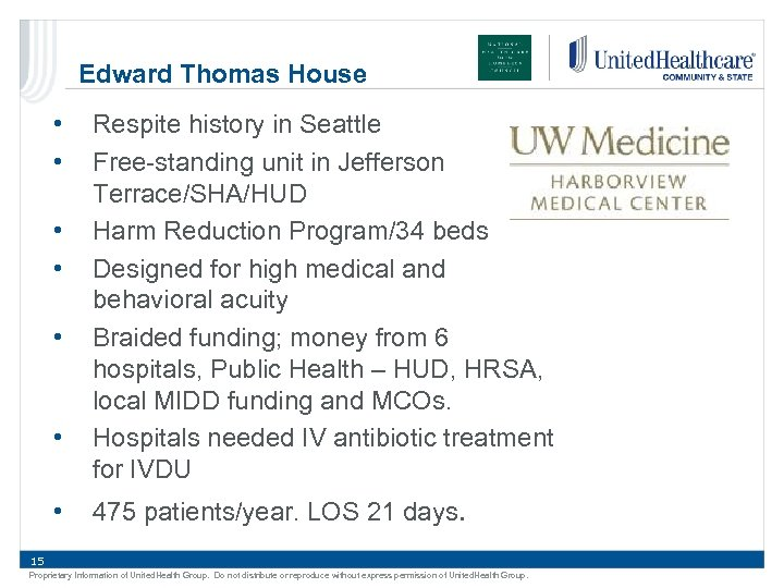 Edward Thomas House • • Respite history in Seattle Free-standing unit in Jefferson Terrace/SHA/HUD