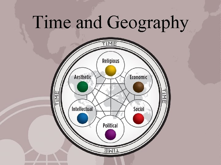 Time and Geography