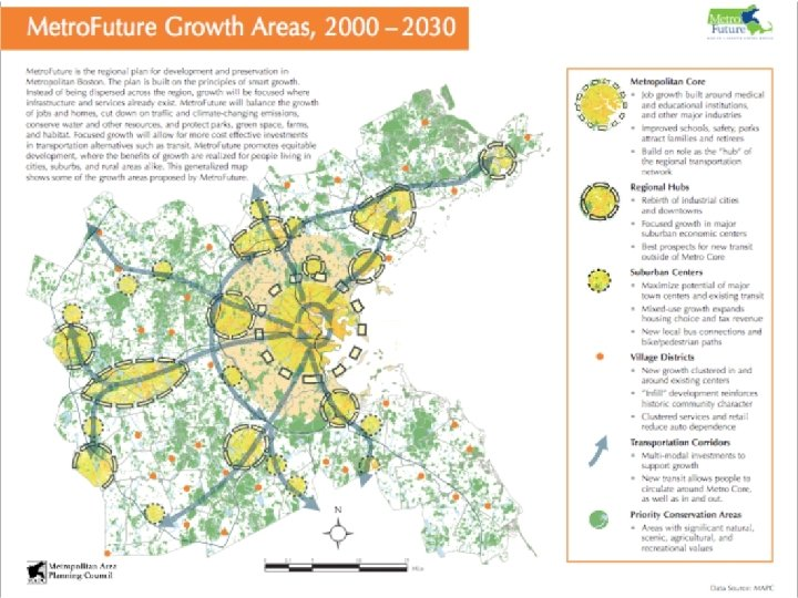 Metro. Future Growth Areas, 2000 -2030 CPN 09: Urban Transport Roundtable - Joe Ferreira