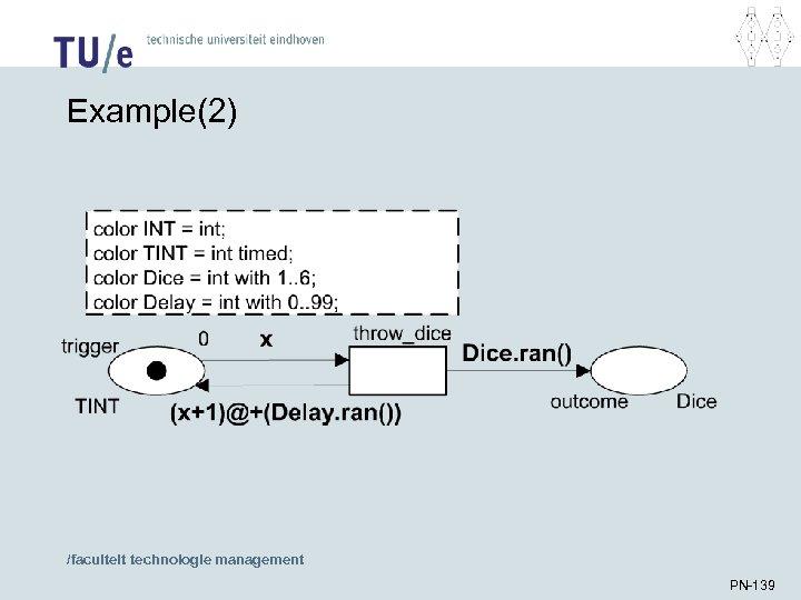 Example(2) /faculteit technologie management PN-139