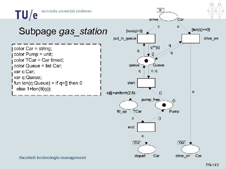 Subpage gas_station /faculteit technologie management PN-143