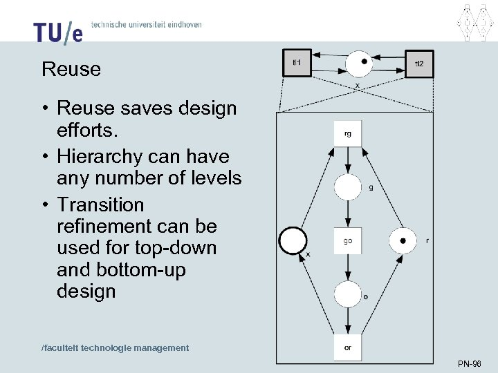 Reuse • Reuse saves design efforts. • Hierarchy can have any number of levels