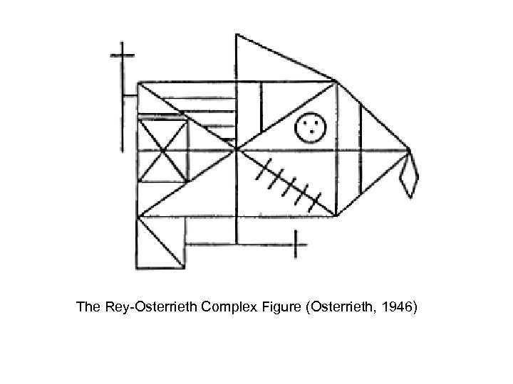 The Rey-Osterrieth Complex Figure (Osterrieth, 1946)
