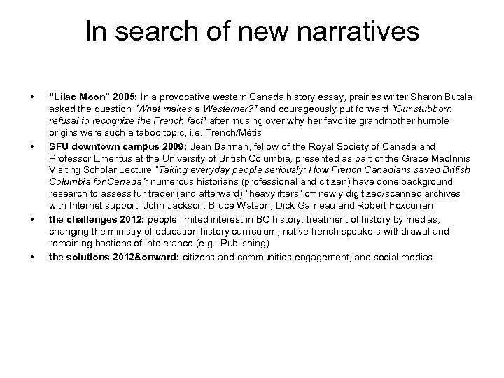 """In search of new narratives • • """"Lilac Moon"""" 2005: In a provocative western"""