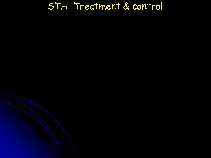 STH: Treatment & control