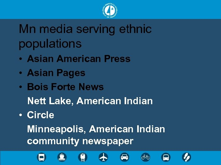 Mn media serving ethnic populations • Asian American Press • Asian Pages • Bois