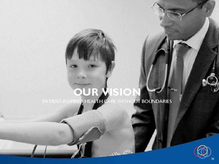 OUR VISION PATIENT-INSPIRED HEALTH CARE WITHOUT BOUNDARIES 36