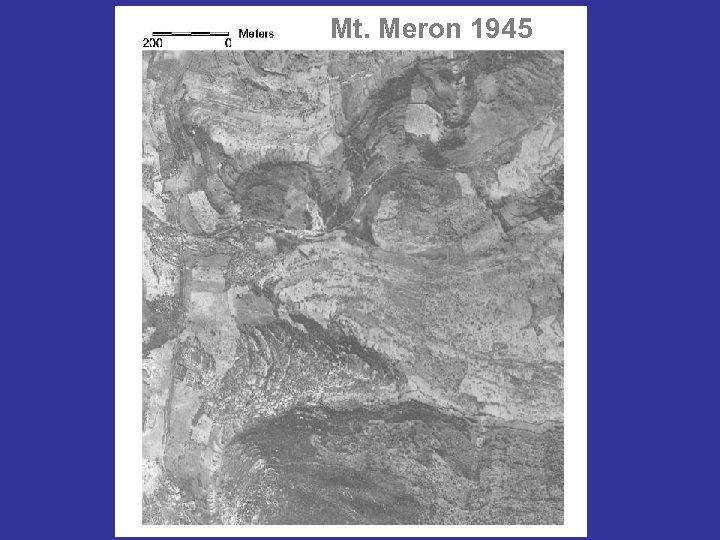 Mt. Meron 1945
