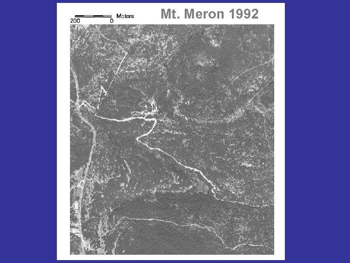 Mt. Meron 1992